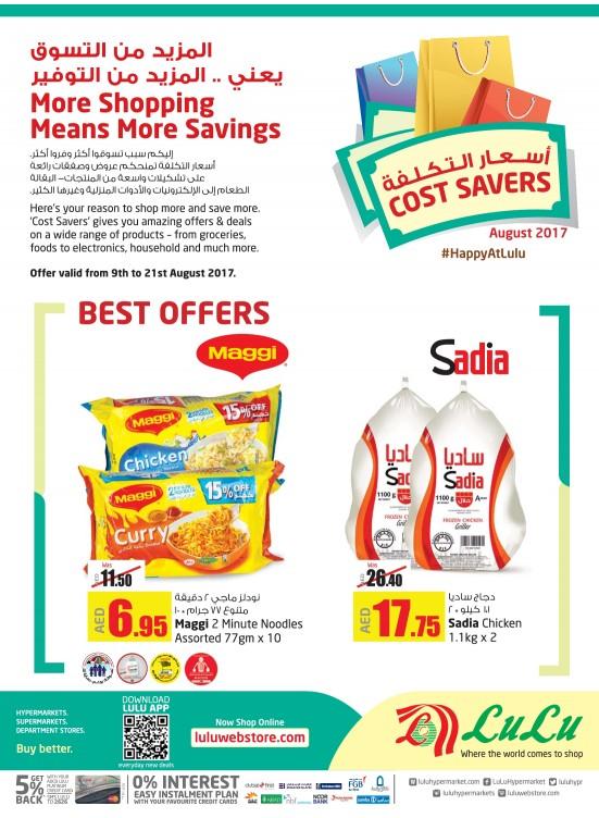 Cost Savers