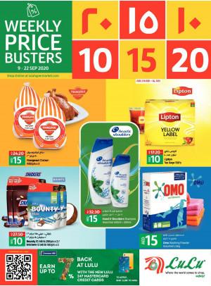 10, 15, 20 AED Offers - Abu Dhabi & Al Ain