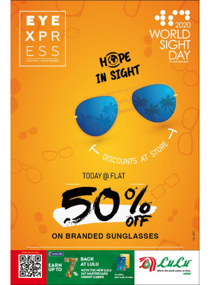 50% Off on Branded Sunglasses