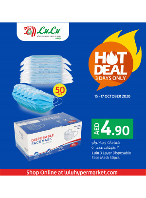 Face Mask Hot Deal