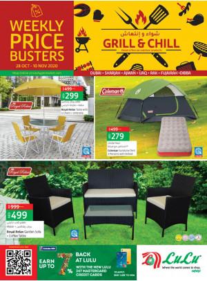 Grill & Chill - Dubai & Northern Emirates