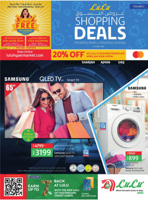 Shopping Deals - Sharjah, Ajman & UAQ