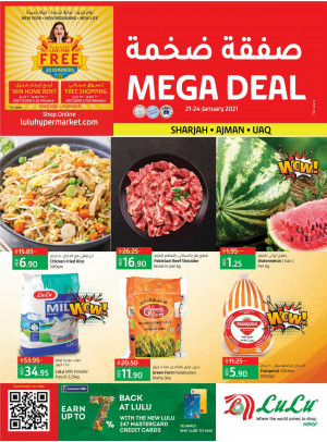 Mega Deals - Sharjah, Ajman & UAQ