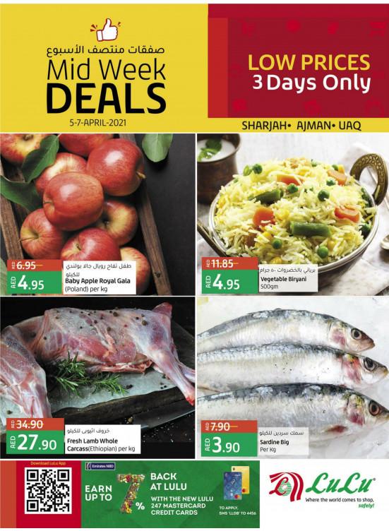 Midweek Deals - Sharjah, Ajman & UAQ