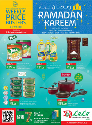 Special Ramadan Offers - Dubai & Northern Emirates