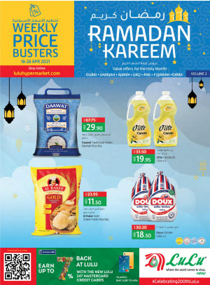 Ramadan 2021 Offers - Dubai & Northern Emirates
