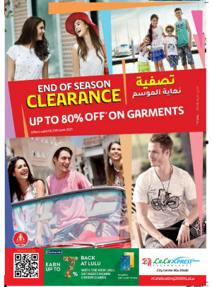 End Of Season Clearance - City Center, Abu Dhabi