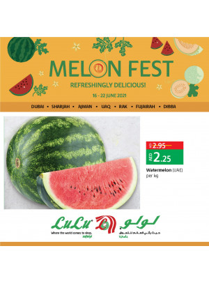 Melon Fest - Dubai & Northern Emirates