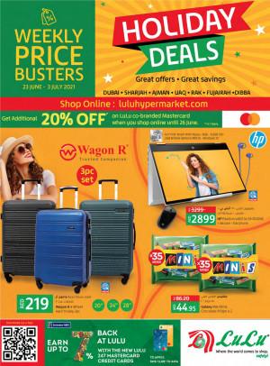 Holiday Deals - Dubai & Northern Emirates