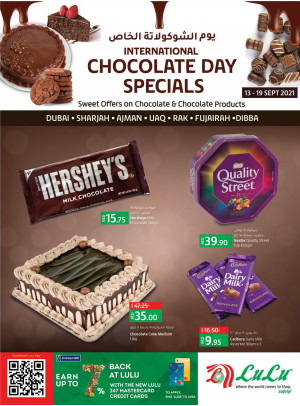 Chocolate Day Specials - Dubai & Northern Emirates