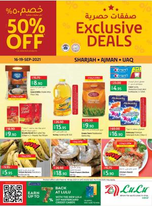 Exclusive Deals - Sharjah, Uaq & Ajman