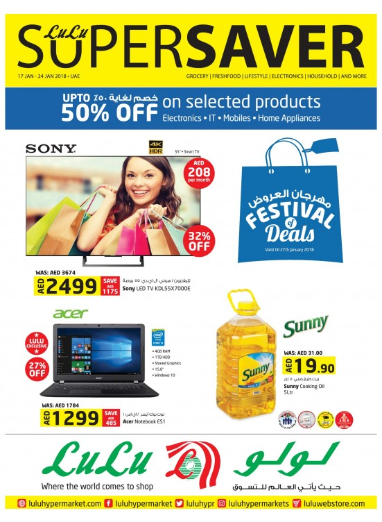 Festival Of Deals - Super Savers