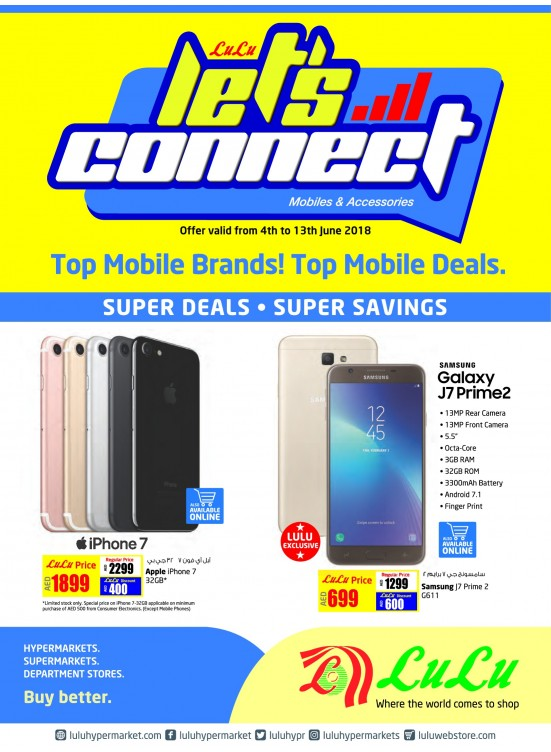 b0408e1b626 Let s Connect Offers - Top Mobile Deals from Lulu until 13th June ...
