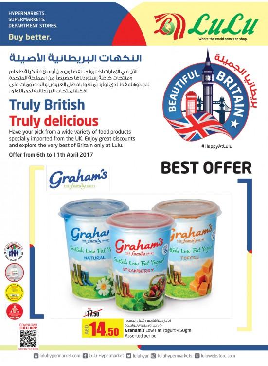 Truly British, Truly Delicious