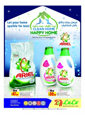 Clean Home Happy Home Offers
