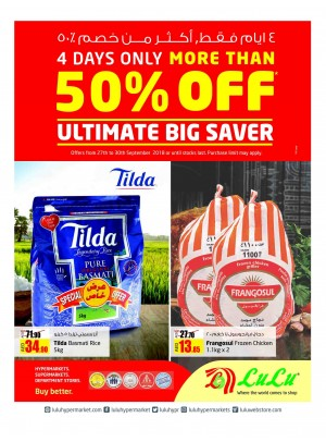 Ultimate Big Saver - More Than 50% Off