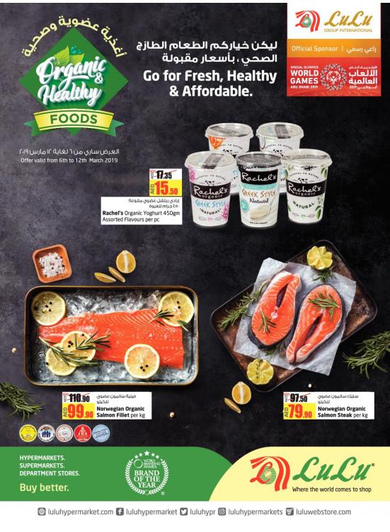 Organic & Healthy Foods