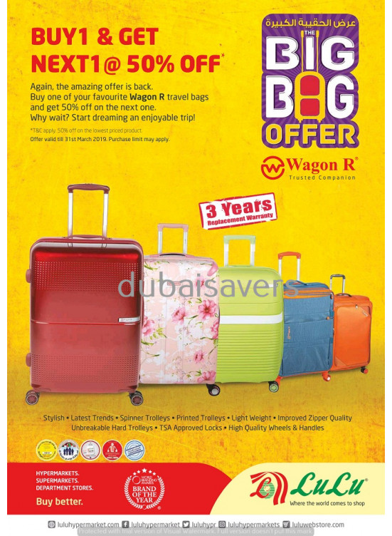 Big Bag offer