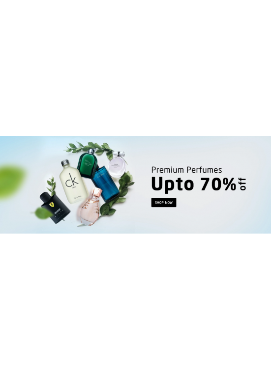 Up To 70% Off on Perfumes