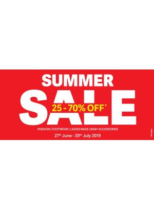 Summer Sale 25 - 70%