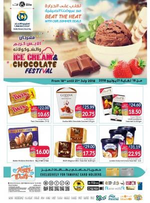 Summer Deals - Ice Cream & Chocolate Festival