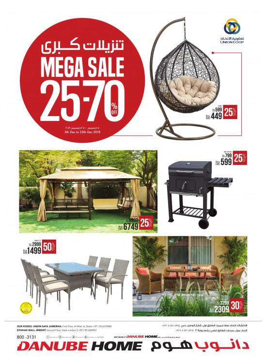 Mega Sale 25-70%