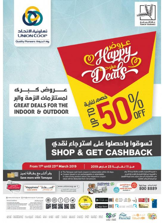 Happy Deals - Up To 50% Off
