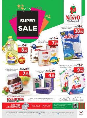 Super sale - Everfine Supermarket,Hor Al Anz