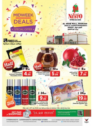 Midweek Deals - Arab Mall Sharjah