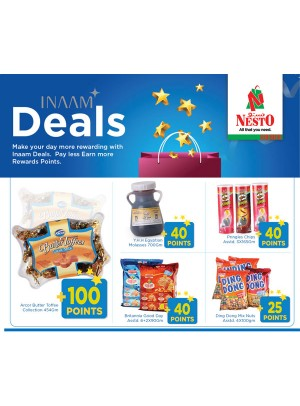 Inaam Deals Extra Points!