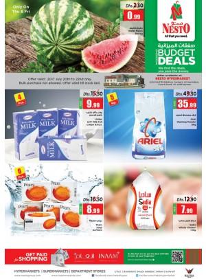 Weekend Budget Deals - Jurf