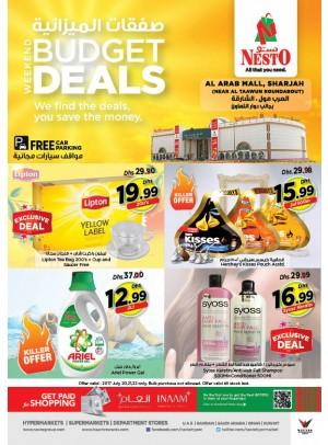 Weekend Budget Deals - Al Arab Mall