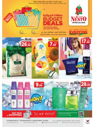 Weekend Budget Deals - Everfine Supermarket Hor Al Anz