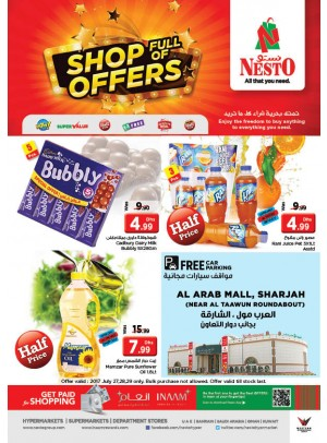 Shop Full of Offers - Arab Mall Sharjah