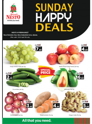 Sunday Deals - Opp. GMC Hospital, Ajman