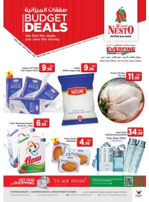 Weekend Budget Deals - Everfine Supermarket,Hor Al Anz