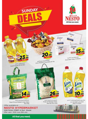 Sunday Deals - Al Nud, Sharjah