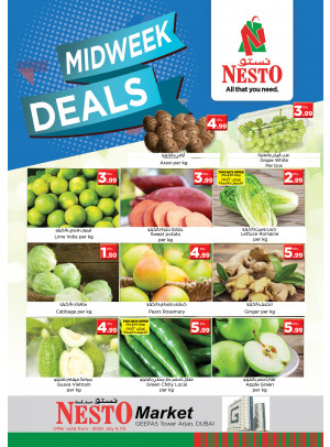 Midweek Deals - Arjan