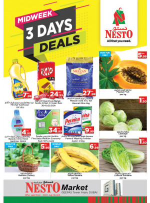 Midweek Deals - Arjan