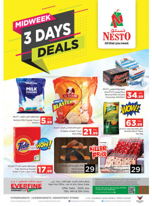 Midweek Deals - Hor Al Anz