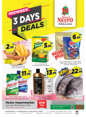 Midweek Deals - Near Karama Post Office, Dubai
