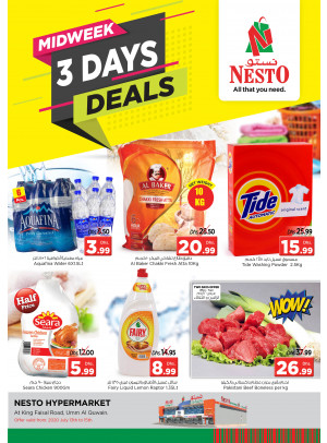 Midweek Deals  -  Umm Al Quwain