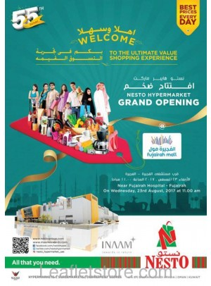 Grand Opening Offers at Fujairah Mall