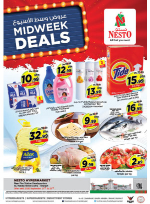 Midweek Deals - Al Nabba, Sharjah