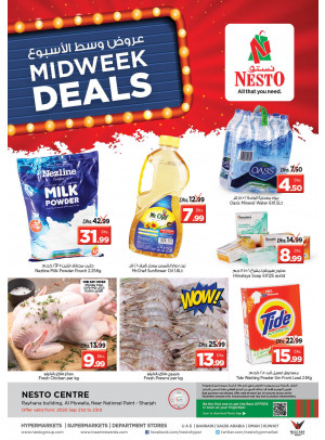 Midweek Deals - National Paints, Sharjah