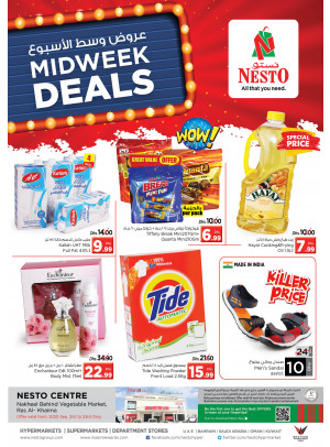 Midweek Deals - Ras Al Khaima