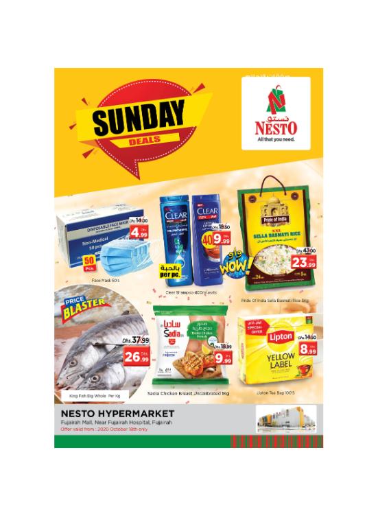 Sunday Deals - Fujairah