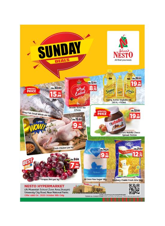 Sunday Deals - Muweilih, Sharjah