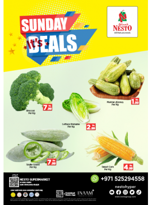 Sunday Deals - Rolla