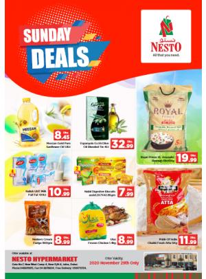 Sunday Deals - Jafza